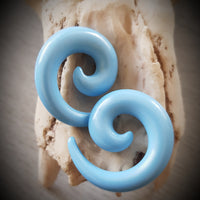 5mm Acrylic Spirals ~ Pair