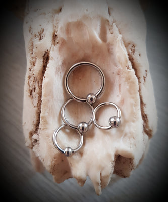 Ball Closure Ring ↠ Silver