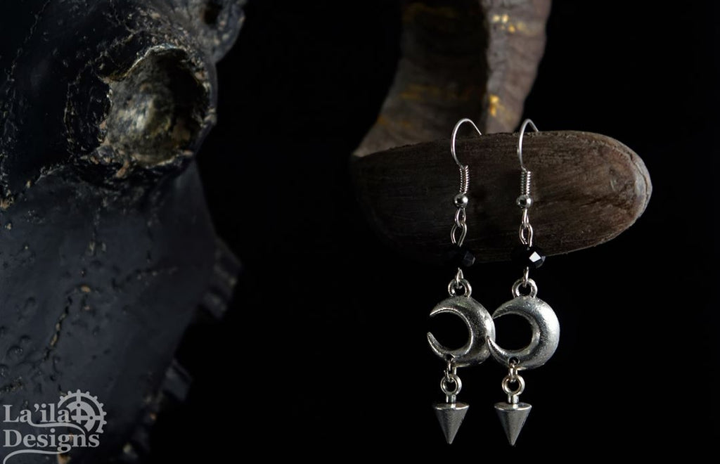 Moon Spike Earrings