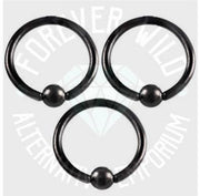 Ball Closure Ring Nipple Bar ~ Sold Individually