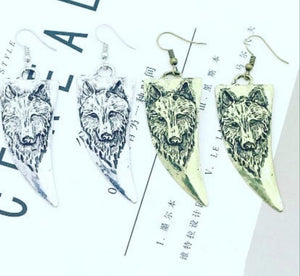 Wolf Tusk Earrings