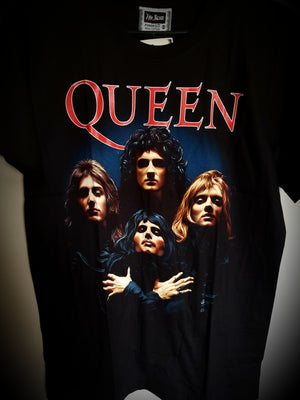 Queen Unisex Band T-shirt
