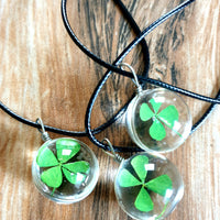 Clover Orb Necklace