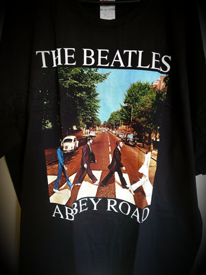 The Beatles Abbey Road Unisex Band T-shirt