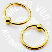 Ball Closure Ring ↠ Gold