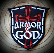 Armor Of God Badge Patch
