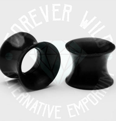 6mm Silicone Tunnels ~ Pair