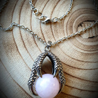 Dragon Claw Crystal Necklace