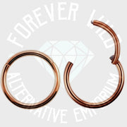 Hinged Segment Ring ↠ Rose Gold