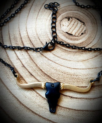 Animal Skull Carcass Necklace