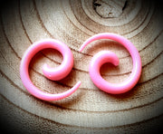 4mm Acrylic Spirals ~ Pair