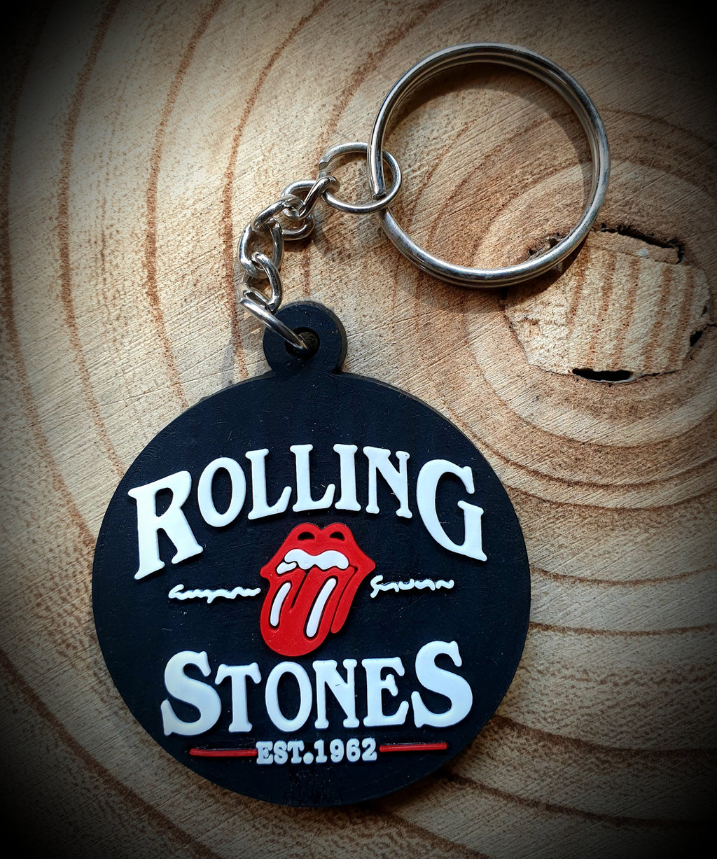 Rolling Stones Band Key Ring