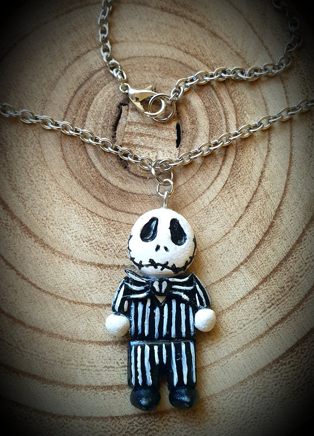 Jack Skellington Nightmare Before Christmas Necklace