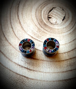Diamantè Tunnels ↠ Multicolour ~ Pair