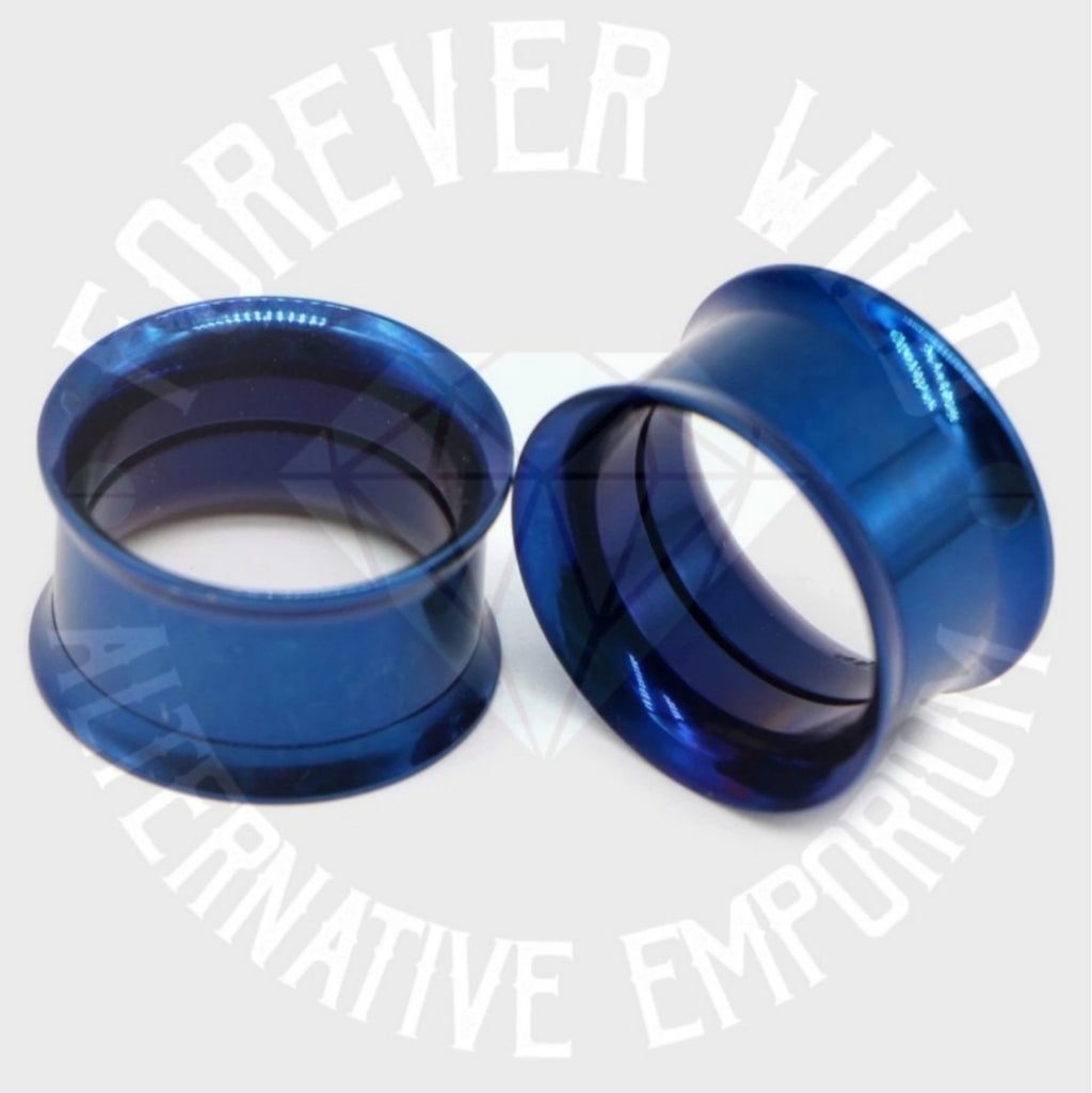 Steel Tunnels ↠ Navy Blue ~ Pair