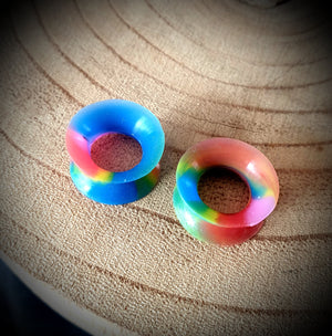 Patterned Skinz Silicone Tunnels ~ Pair