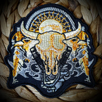 Animal Carcass Biker Badge Patch