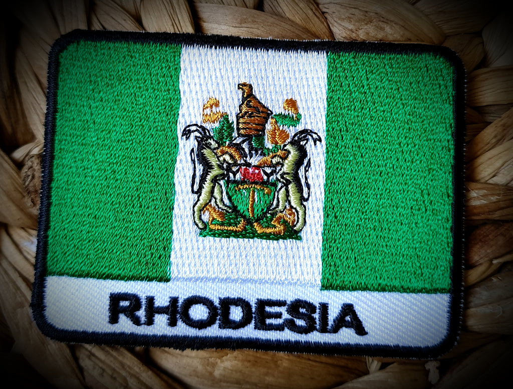 Rhodesia Flag Badge Patch