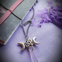 Charmed Triple Goddess Necklace