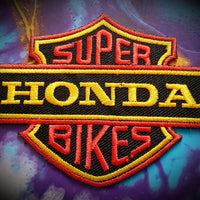 Honda Superbikes Badge Patch
