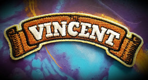Vincent Motorcycle Badge Patch