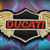 Ducati Motorcycle Badge Patch