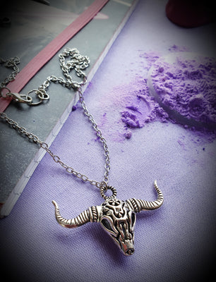 Carcass Animal Skull Necklace
