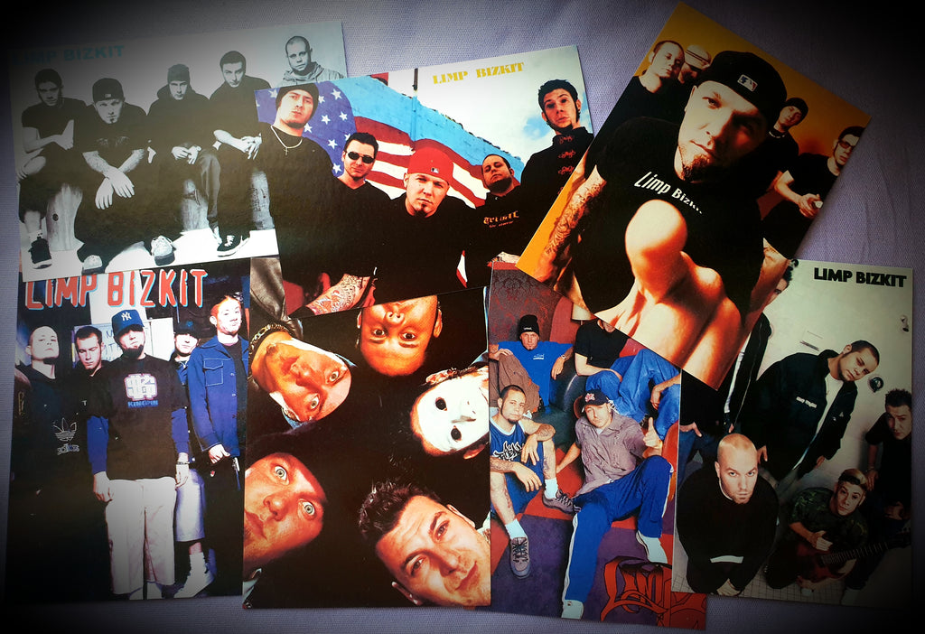 Limp Bizkit Postcard Photo Series ~ Set Of 14