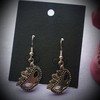 Masquerade Mask Earrings