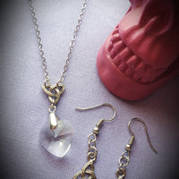 Triquetra Necklace & Earrings Set