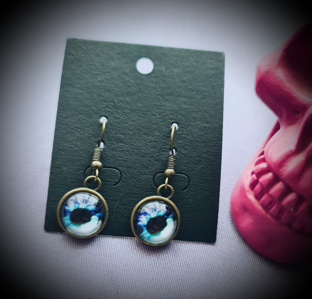 Eye Bronze Earrings