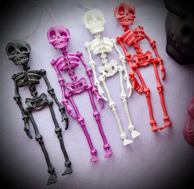 Hanging Skeleton Ornament