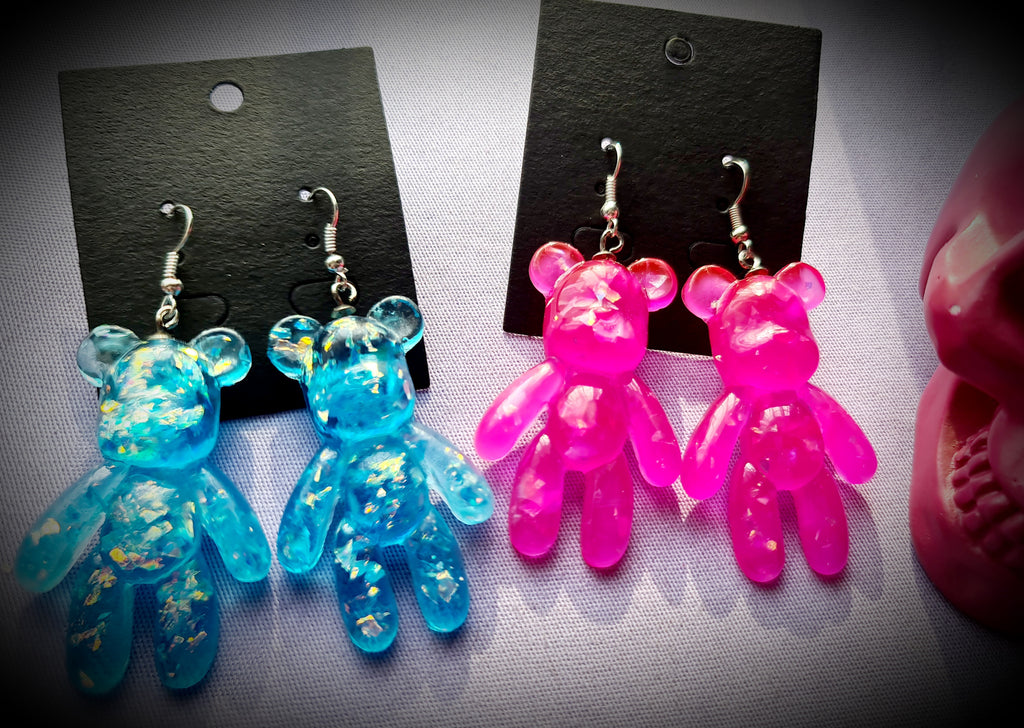 Giant Gummy Bear Earrings