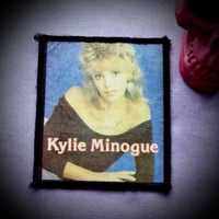 Kylie Minogue Vintage Photo Band Patch