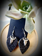 Animal Skull Resin Earrings
