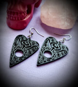 Ouija Planchette #1 Earrings