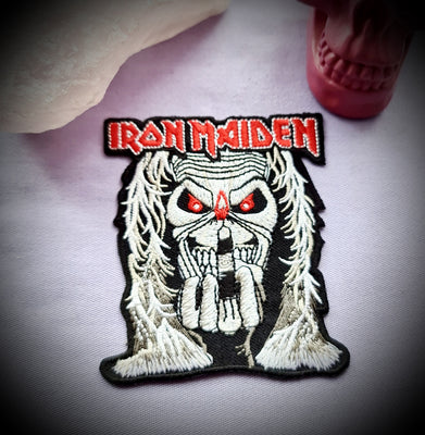Iron Maiden Band Badge Patch