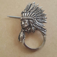 Indian Biker Badge