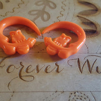 Owl Ear Hangers ↠ Orange