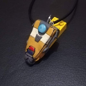 Claptrap Borderlands Necklace