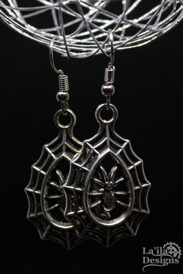 Arachnida Earrings