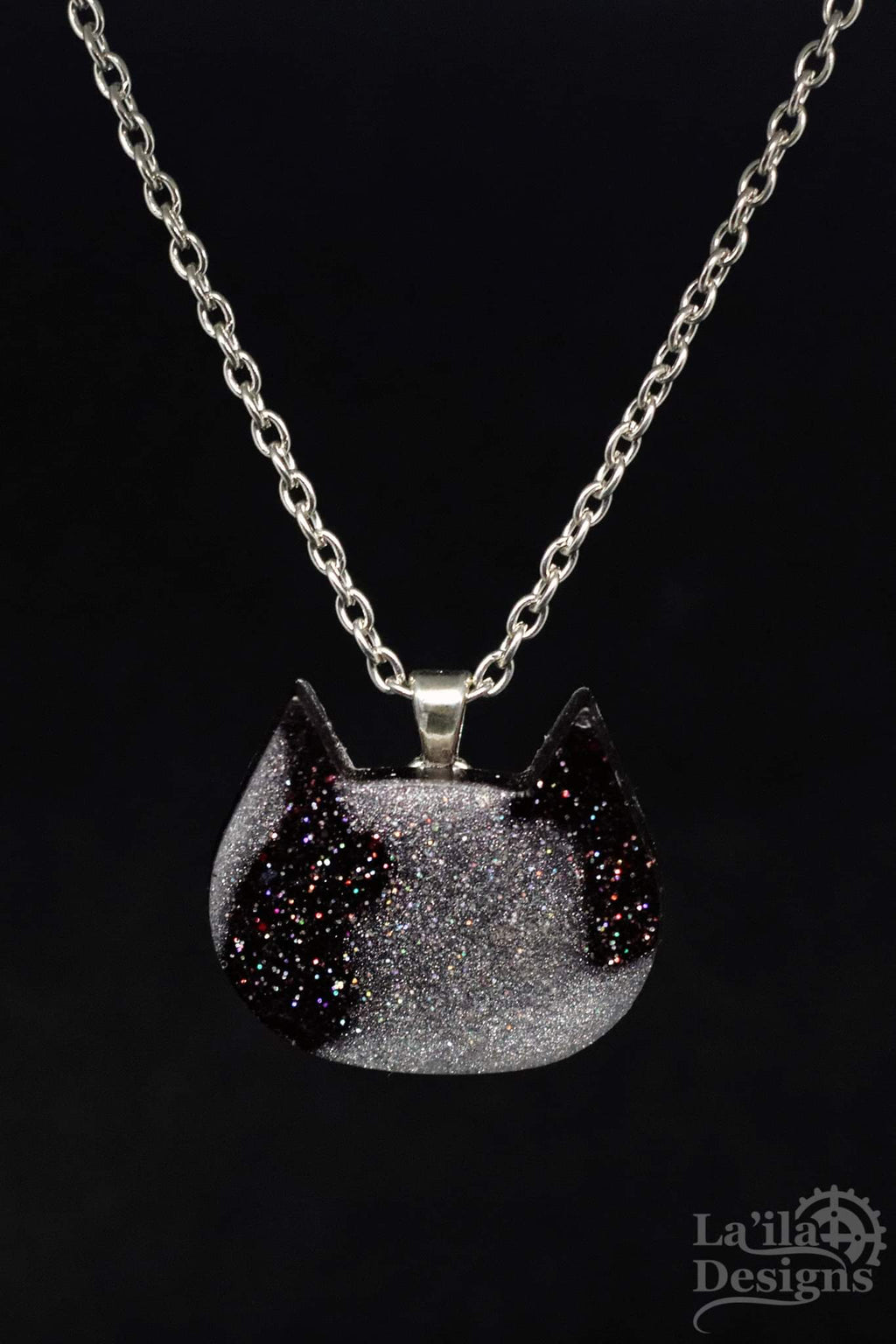 Galaxy Kitty Necklace ~ Pre-order