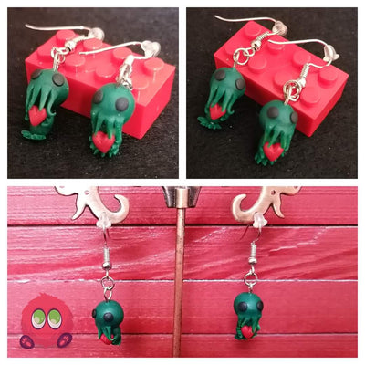 Cthulu Earrings