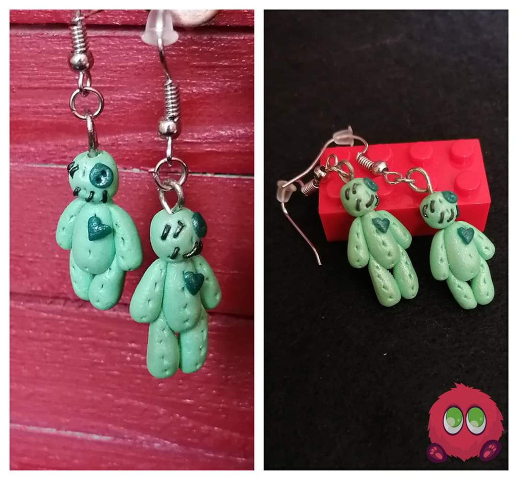 Voodoo Doll Earrings
