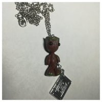 Groot With Cassette Necklace