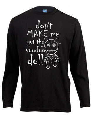 Voodoo Doll Long Sleeve Shirt ~ Pre-order