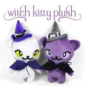 Witch Kitty Plushie ~ Pre-order