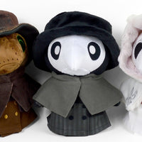 Chubby Plague Doctor Plushie ~ Pre-order