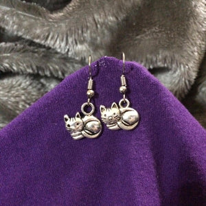 Cat Earrings