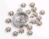 Colourful Flower Floating Charm